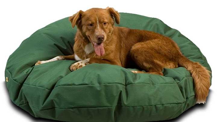 Snoozer-Waterproof-Round-Dog-Bed