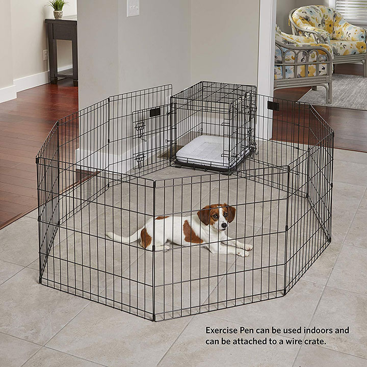 midwest-foldable-exercise-dog-pen