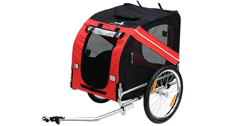 aosom-elite-dog-bike-carrier