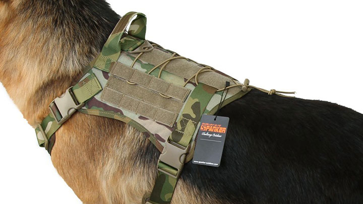 9f6ba2345a711 10 Best Tactical Dog Harnesses and Vests - Outdoor Dog World