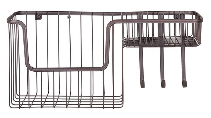 mDesign-wall-mounted-metal-storage-rack