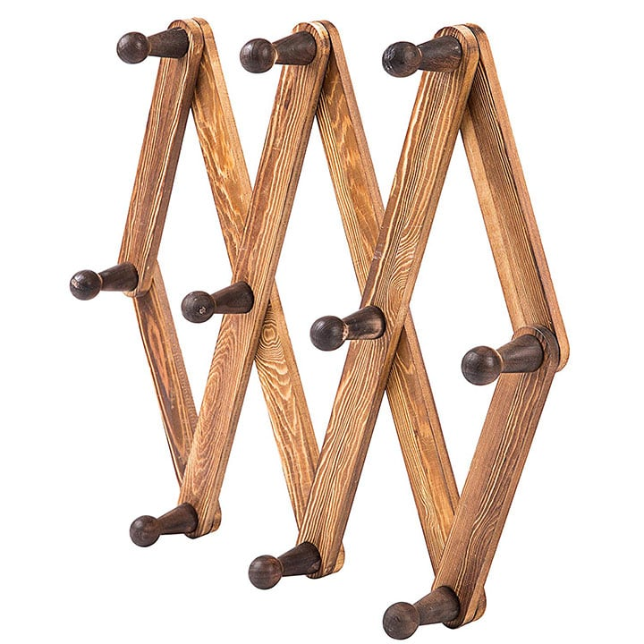 mygift-burnt-wood-wall-mount-hooks