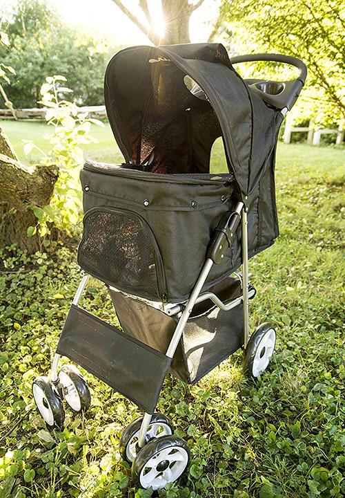 vivo-four-wheel-dog-stroller