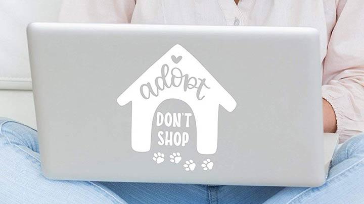 adopt-dont-shop-dog-sticker