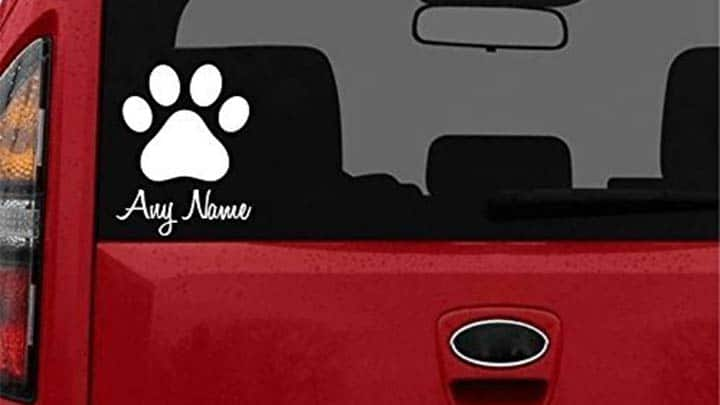 Sensational 23 Awesome Dog Decals And Stickers For Your Car Windows Beutiful Home Inspiration Aditmahrainfo