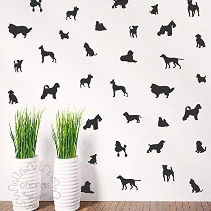dog-wall-decals