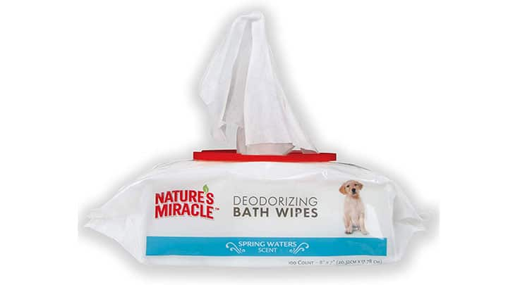 natures-miracle-dog-bath-wipes