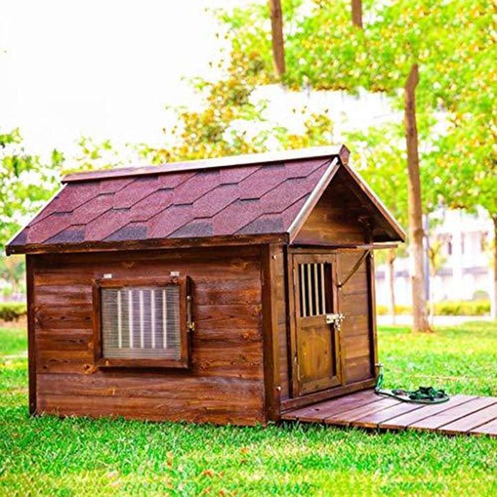 wooden-luxury-dog-house