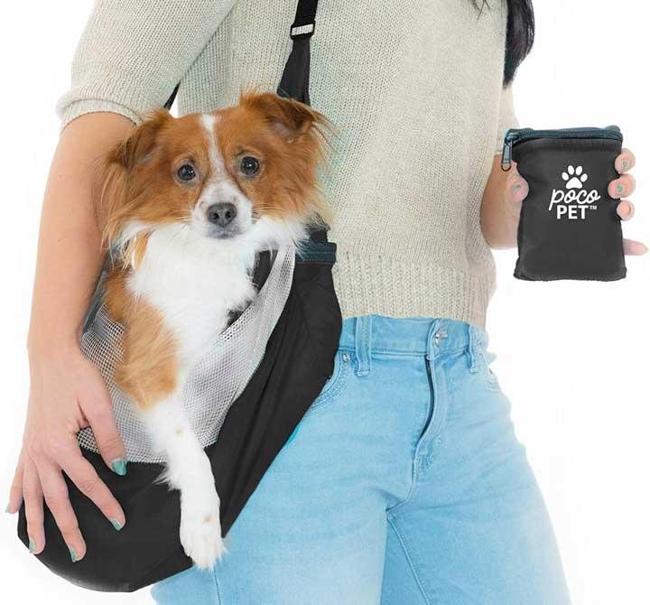 PocoPet Small Dog Travel Sling